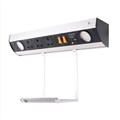 Wallmount Power Station - Dual USB Changer + 3 BS Socket - 2 LED Spot Lights + Hanging Tray
