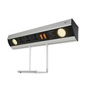 Wallmount Power Station - Dual USB Changer + 3 UNI Socket - 2 LED Spot Lights + Hanging Tray