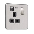 1G 13A Socket with USB (2.1A)
