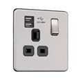 1G 13A Socket with USB (2.4A)