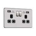 2G 13A Socket with USB (2.4A)